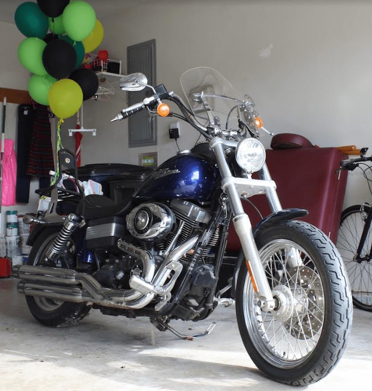 $10,000 winner motorcycle