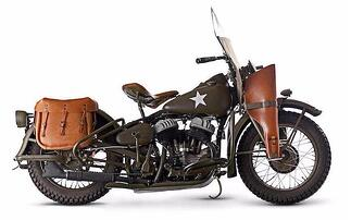 History Classic Harley Davidson Motorcycles In Wwii