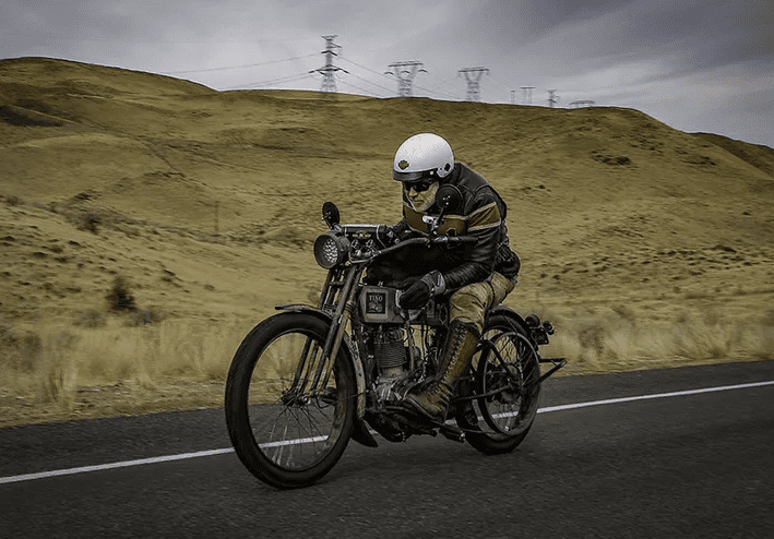 2018 motorcycle cannonball winner