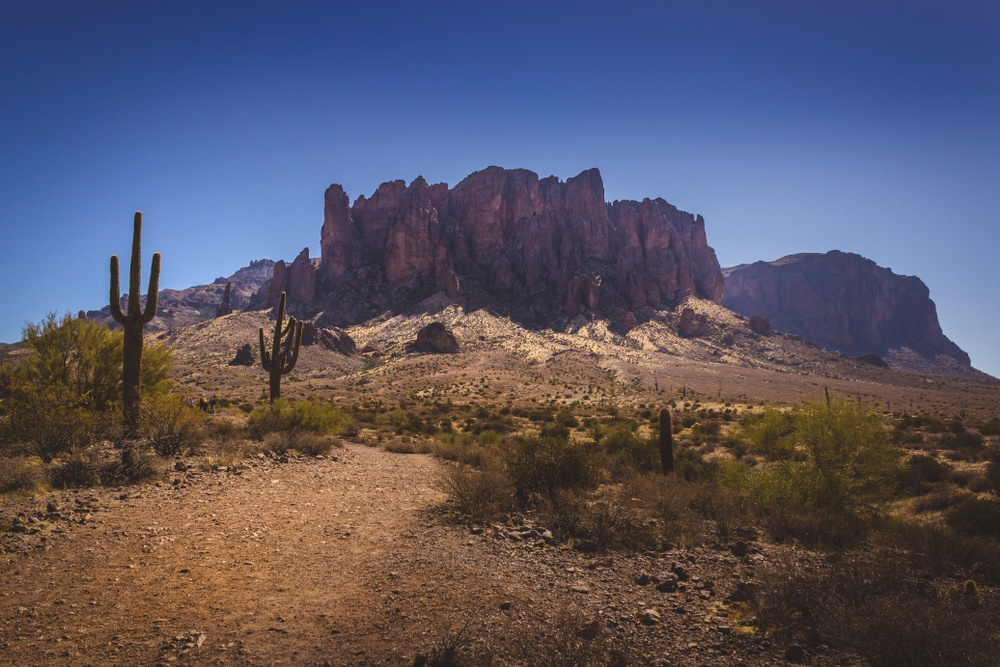 Haunted places in US: Lost Dutchman Mine