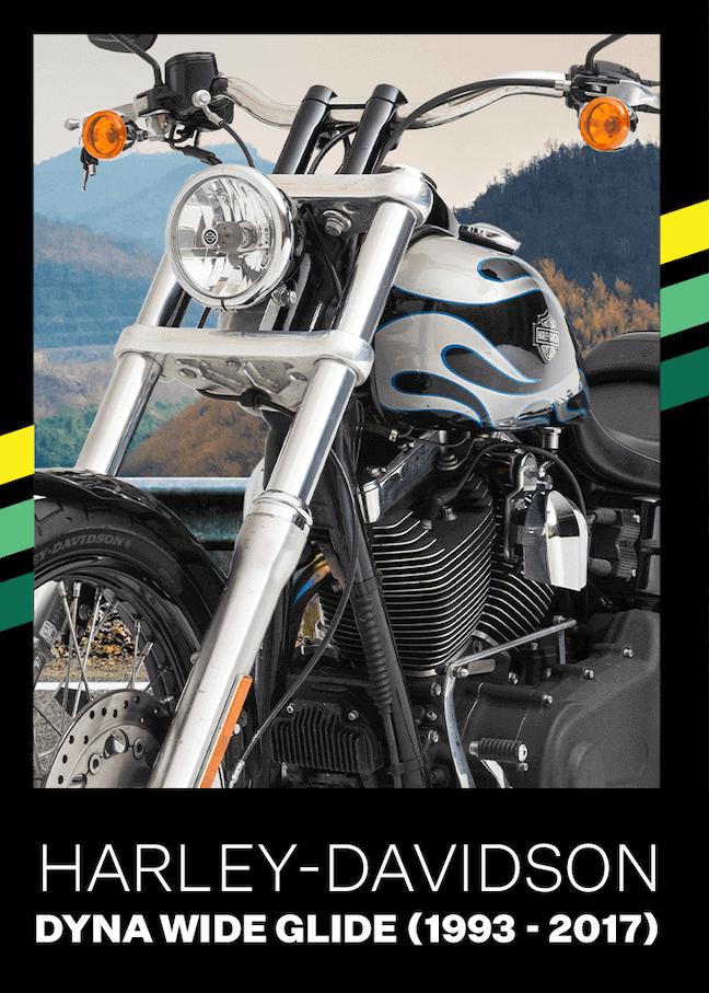 Retired Harley Davidson Dyna Wide Glide