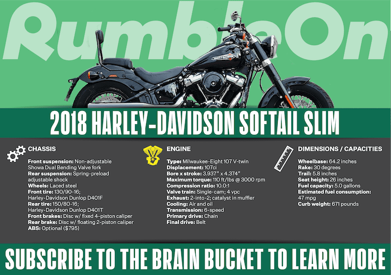 What is a Harley softail