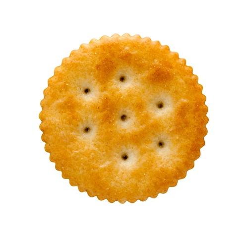 Ritz crackers make good travel snacks inside Pringles cans.