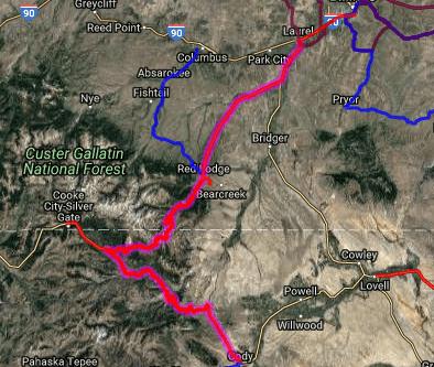 Best motorcycle roads in Montana - Beartooth Pass