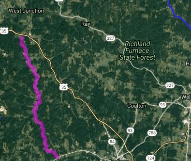 Best bike roads in Ohio - Limerick Road - Richmond Dale - Liberty Township