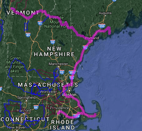 Best motorcycle roads in Rhode Island - New England Tour