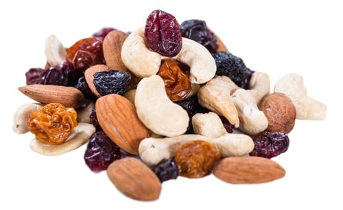 Try this trail mix recipe for a good road snack.