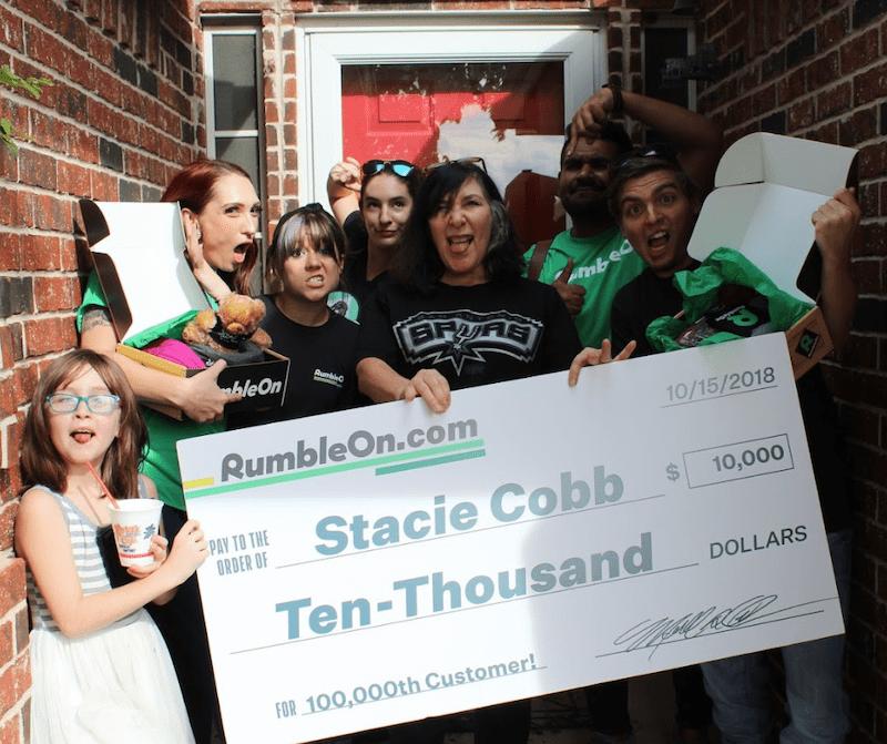 rumbleon team and winner
