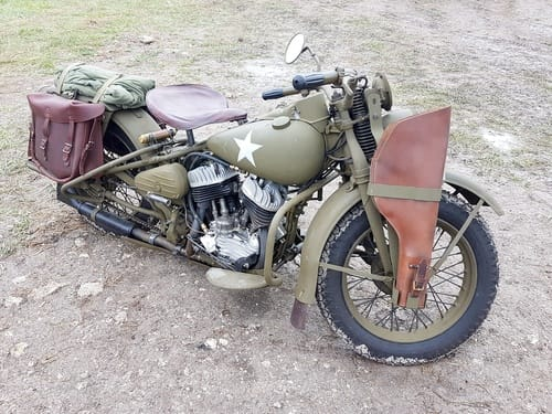 American War Motorcycle