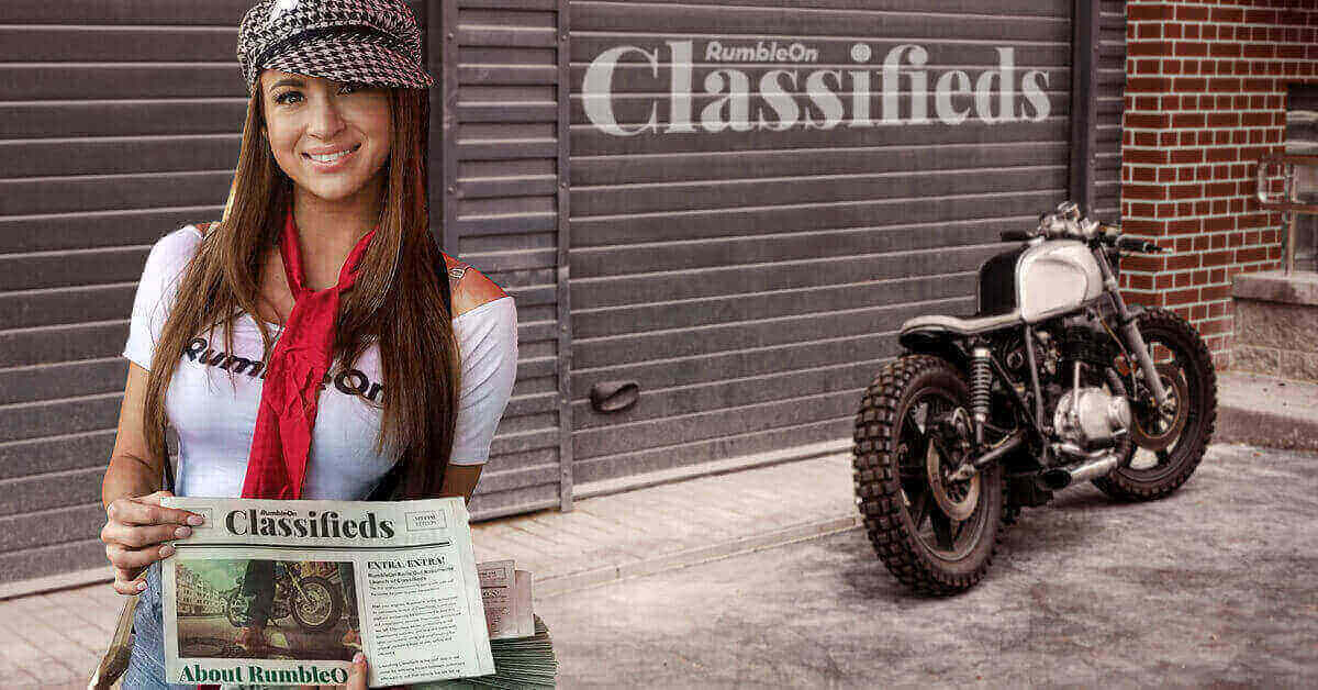 List a Motorcycle On Your Own Terms with RumbleOn Classifieds