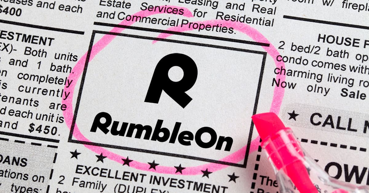 RumbleOn to Launch Consumer-Only Platform