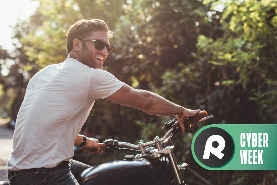 Buy a used motorcycle online and you'll earn bonus gifts