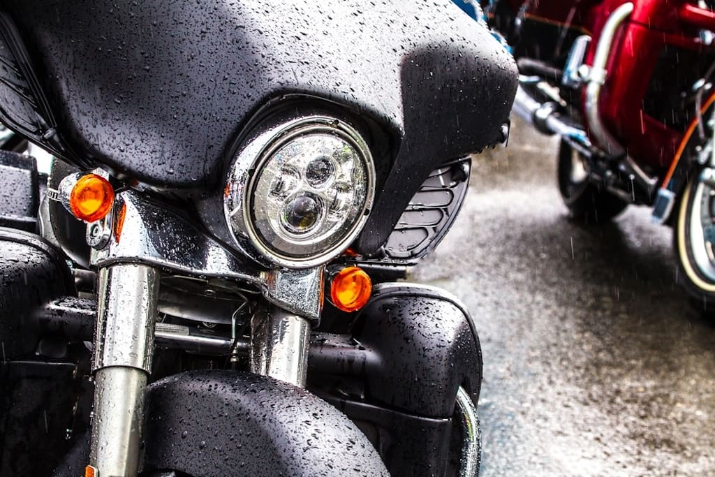 Motorcycle Tips for Riding in the Rain (Video)