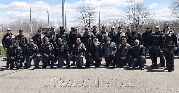 Michigan Motorcycle Club Gives Veterans Their All